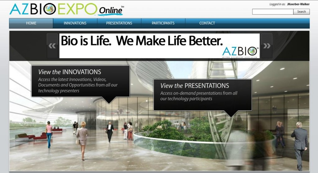 AZBio Expo Online Main Hall