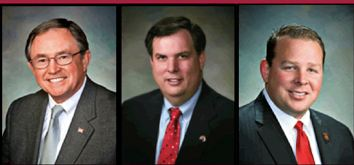 Sen. John McComish, Rep. Bob Robson, and  Rep. Jeff Dial (L.D. 20)