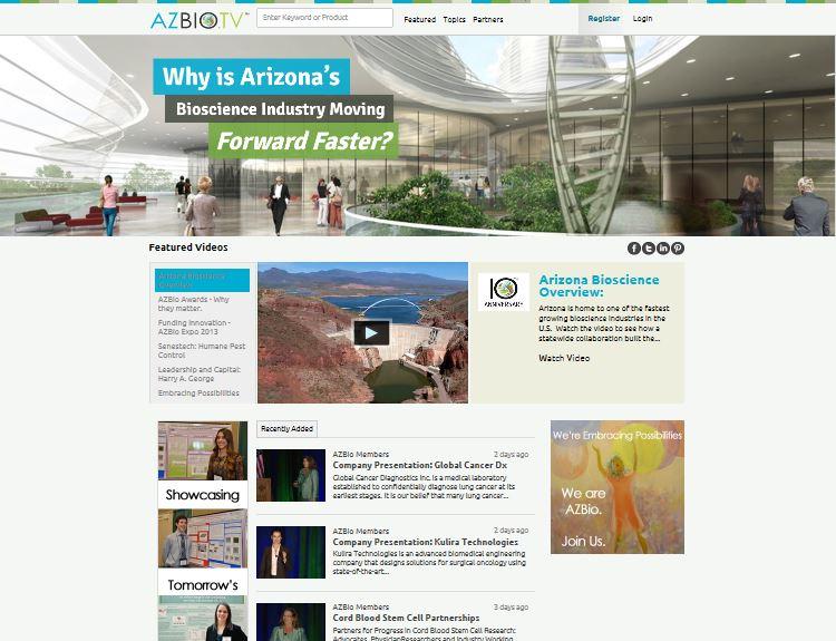 AZBio TV Home