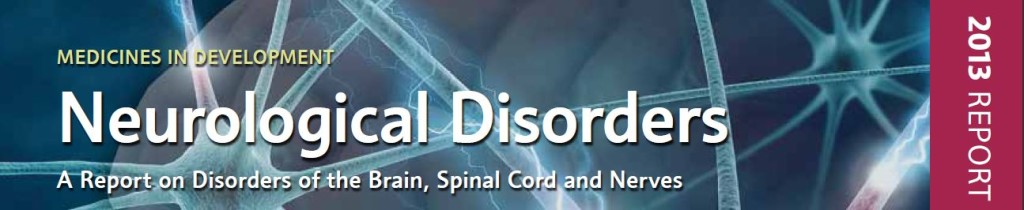phrma report neurological disorders