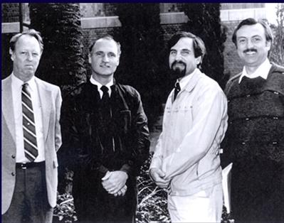 Melanotropin Team circa 1990
