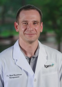 Dr. Matt Huentelman, TGen Professor of Neurogenomics, and the study's senior author