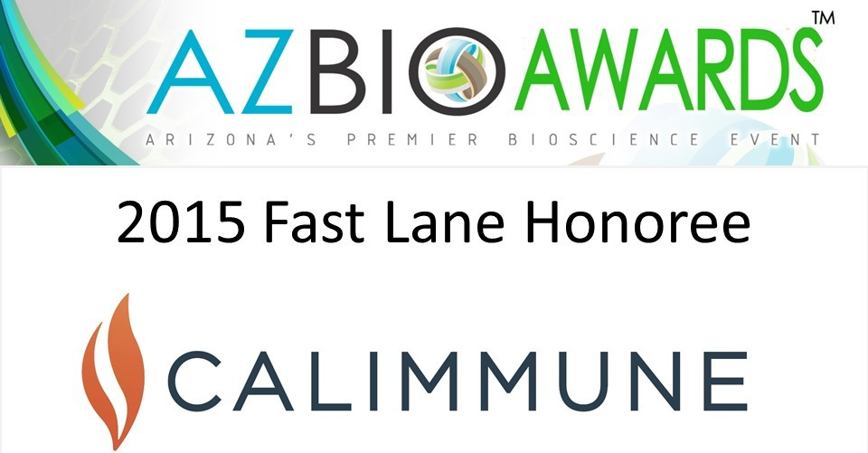 AZBio Awards 2015 Calimmune