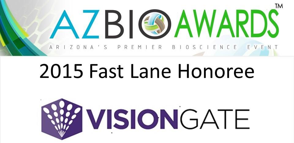 Awards 2015 VisionGate