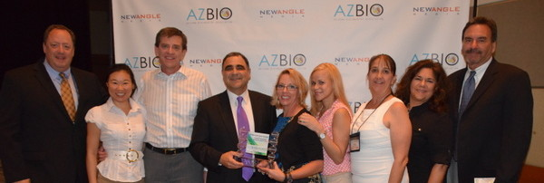 CPP at the AZBio Awards in 2014