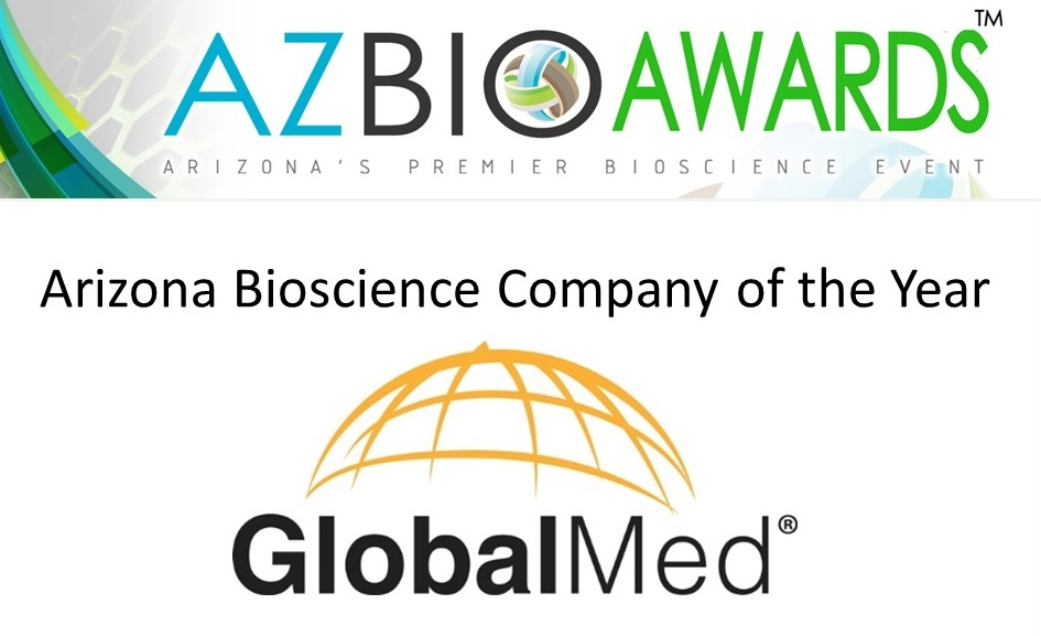 AZBio Awards 2016 BookEnd_GlobalMed_cropped