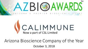 The Arizona Bioscience Company of the Year is on a Mission