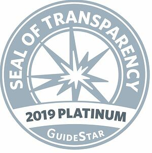 Click on the GuideStar 2019 Platinum Seal of Transparency to visit AZBio's GuideStar profile