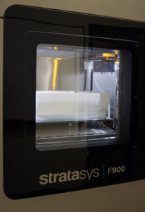 With fast build speed and large build volume, the F900 significantly increased PADT's 3D printing capability and capacity. (Photo courtesy of PADT)