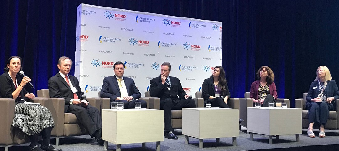 Members of patient organizations, industry and regulatory agencies participated in a panel discussion on data integration in rare diseases and how they fit into the vision for RDCA-DAP.