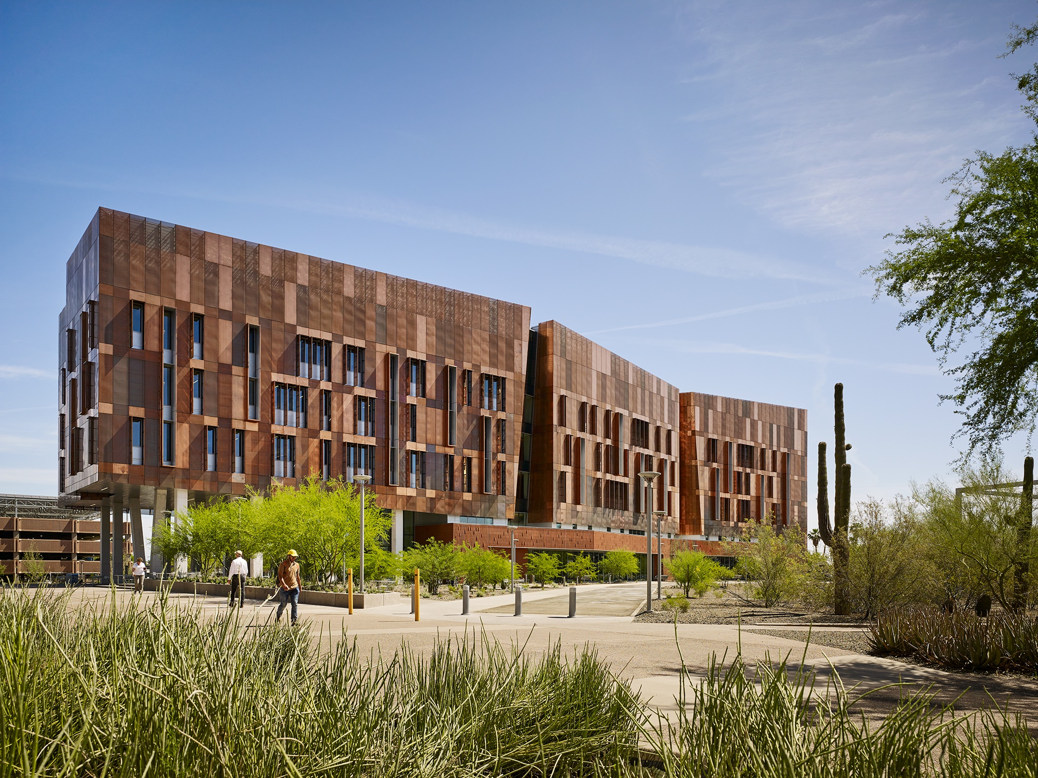 Arizona State University's Biodesign Institute C Research Building