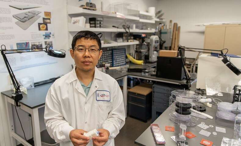 Jian Gu, PhD (Photo by Tabbitha Mosier)