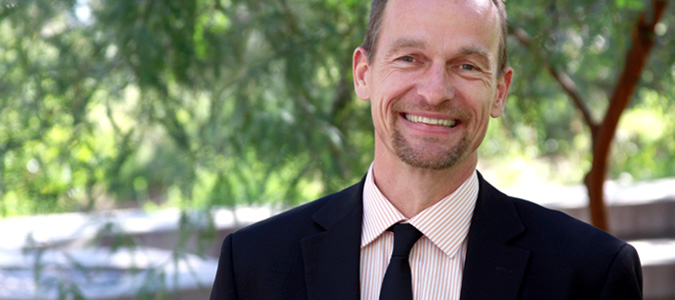 Rolf Halden Directs the Biodesign Center for Environmental Health Engineering. He is also a professor in ASU's School for Sustainability and the Built Environment.