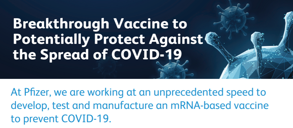 Pfizer And Biontech Dose First Participants In The U S As Part Of Global Covid 19 Mrna Vaccine Development Program Azbio