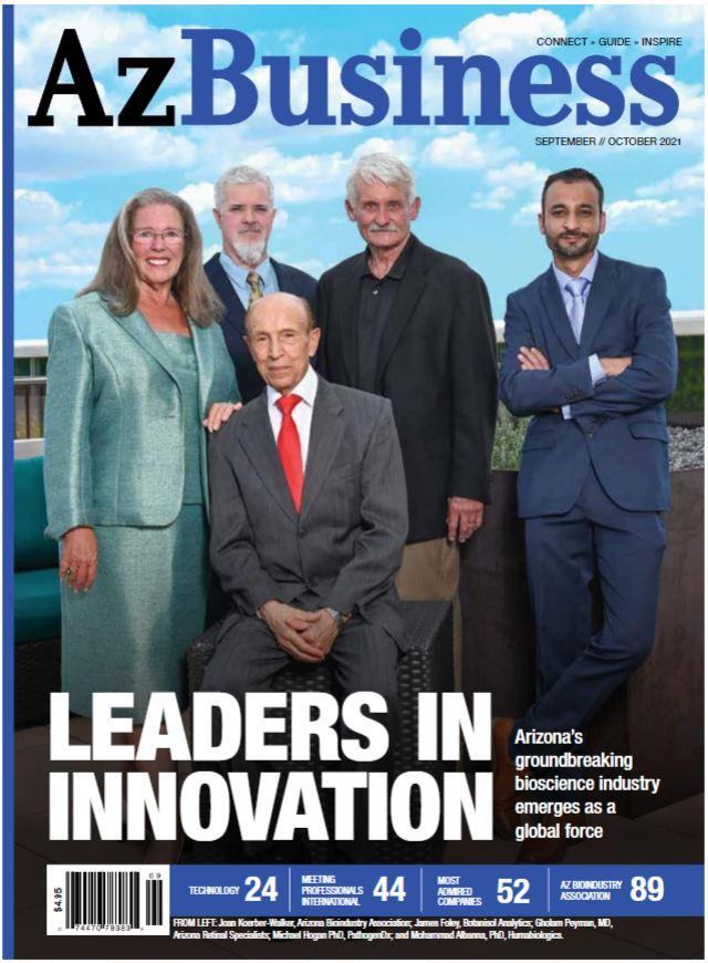 AzBusiness Magazine Cover Sep-Oct-2021
