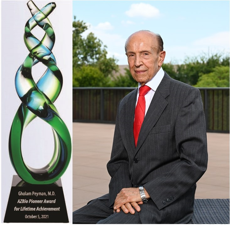 Vision Pioneer Gholam Peyman, MD (photo: Bruce Andersen/AzBusiness Magazine)